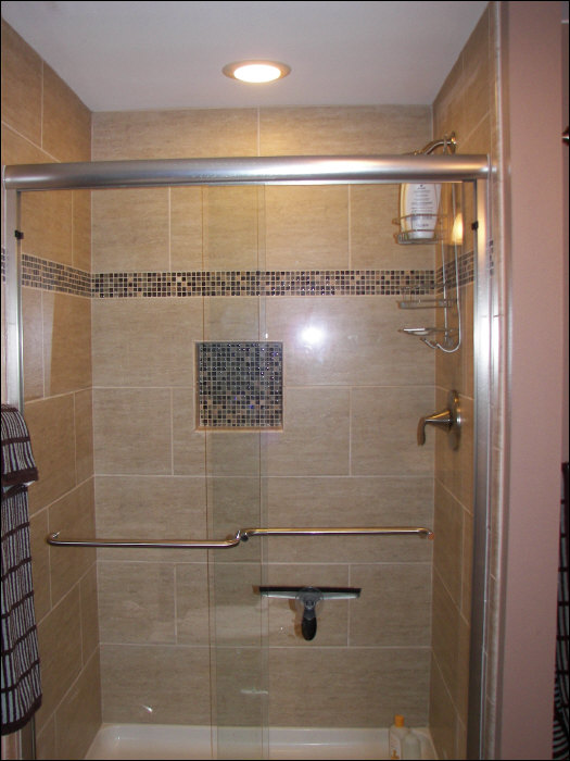Shower basement remodel